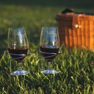 Handy Holder Wine Glasses Set of 2