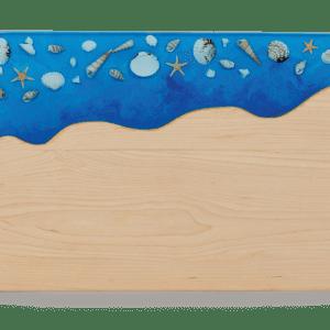 Sanibel Serving Board Sea Shell Inlay