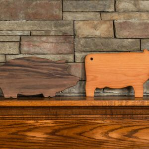 Pig Serving Board Made In USA