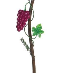 Grapevine Wine Glass Holder Ground Stake